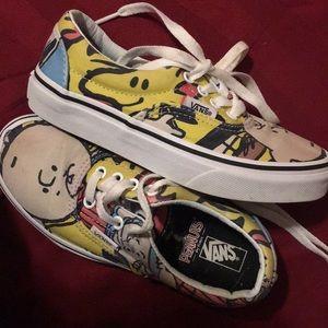 Size 13 Boys Charlie Brown Vans